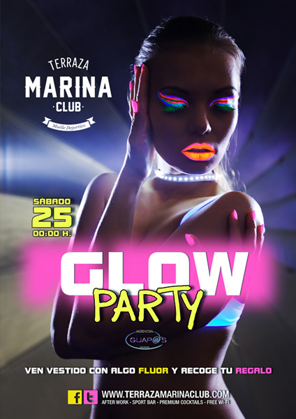 cartel marina glow party