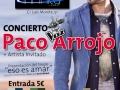 cartel paco arrojo